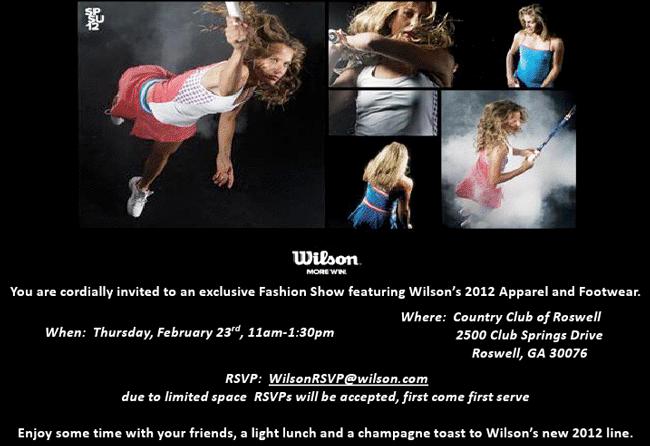 February 2012 Wilson Fashion Show